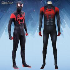 Spider Man Into the Spider Verse Costume Aaron Davis Jumpsuit Cosplay Prowler