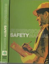 1973 NATIONAL SAFETY Manual ASBESTOS Dust Protection WELDING & Industrial Uses