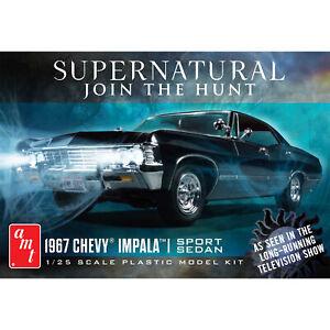 AMT 1/25 1967 Impala Supernatural Model Kit