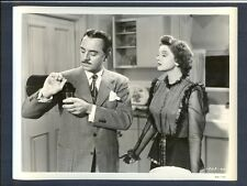 WILLIAM POWELL POURS A SHOT AS MYRNA LOY LOOKS ON - N MINT THIN MAN - MYSTERY