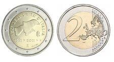 2 EURO COMMEMORATIVA ITALIA 2011 - 150 ANNI UNITÀ D'ITALIA 1861-2011 MOLTO RARA