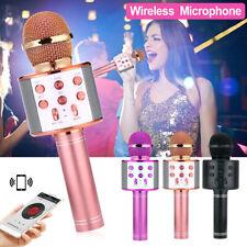 Wireless Bluetooth Handheld Karaoke Microphone Speaker Ktv Player Mic Party