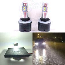 880 885 891 893 899 LED Fog Lights Bulbs Professional Kit 30W 2800LM 6000K White