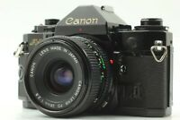 【NEAR MINT】 Canon A-1 SLR 35mm Film Camera w/ New FD NFD 28mm f/2.8 Lens JAPAN