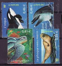 France 2002 - MNH - Vissen/Fish/Fische (WWF / WNF)