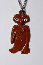 Vintage E.T. The Extrateresstrial 80's Necklace Pendant