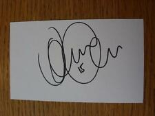 50's-2000's Autographed White Card: Mirfin, David - Scunthorpe United