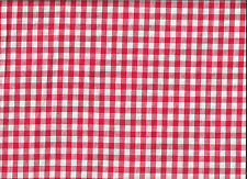 100%COTTON LARGE CHECKS 2 FROM OLD MILL OUTLET,.