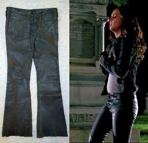 *Buffy the Vampire Slayer* - Eliza Dushku as Faith - Leather Pants w/ Studio COA