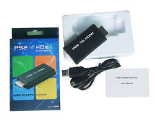 PS2 to HDMI Video Converter Adapter with 3.5mm Audio Output for HDTV HDMI 1080P