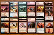 MODERN RED TOURNAMENT! * Spell Stacking Custom Magic Deck * Wizards of the Coast
