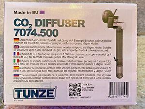 Tunze CO2 Diffuser - Complete Carbon dioxide Diffuser system - aquariums <1000L