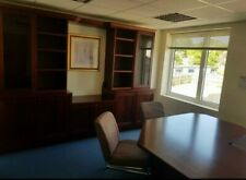 Neville Johnson office setup furniture, cabinets draws directors desk + more