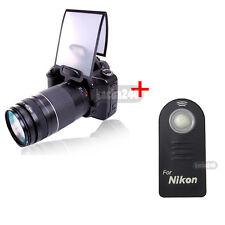 ML-L3 Remote + Flash Diffuser for Nikon D610 D600 D7100 D5500 D5300 D5200 D3300