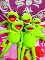 """The Muppets Kermit The Frog Baby Soft Plush Stuffed Toy 7"""""""