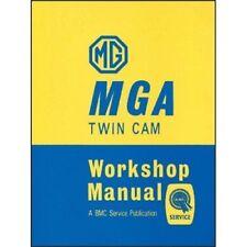 MG MGA Twin Cam Workshop Manuale BOOK LIBRO AUTO