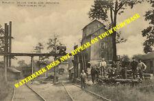Lehigh & Oxford RR Terminus at Basic Iron Mine Oxford NJ station 8½x11 PC repro