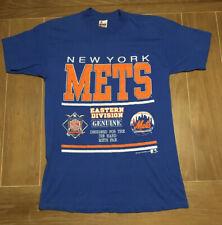 Vintage Single Stitch MLB New York Mets 1991 T Shirt Size L