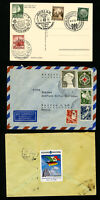 Germany Stamps Lot of 4 Covers
