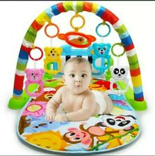 Christmas Gift Baby Gym Play Mat Musical Activity Center Kick And Play Piano Toy