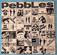 VARIOUS ARTISTS~PEBBLES VOL.9~1980 US 16-TRACK VINYL LP RECORD~BFD 5026 [Ref.1]