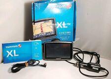 "TOMTOM XL TOM TOM 4.3"" 4EG0.001.12 N14644 Portable GPS Navigator Bundled"