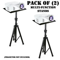 (2) Pyle PLPTS7 MultiFunction Laptop/Device/Music Presentation Adjustable Stands