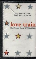 MUSICASSETTA LOVE TRAIN THE BEST OF 70 SOUL FUNK  E DISCO  CASSETTE NEW SEALED