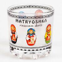1 pc Russian Shot Glass 1.4 fl oz 40 ml Vodka Glass Nesting Doll Matryoshka