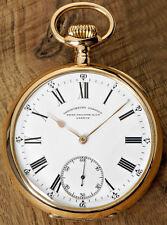 "Patek Philippe 18ct ORO ROSA ""Chronometro Gondolo"" Uomo Orologio da tasca 22 linee"