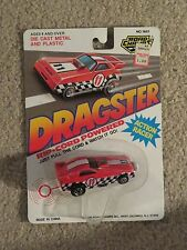 Road Champs Dragster Rip Cord Powered #11 Red 1:64 Scale MOC 1990