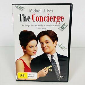 The Concierge (DVD, 1993) Michael J. Fox RARE Region 4 Free Postage