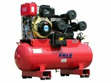 Able MC160112D 160L Diesel Air Compressor - Red