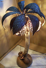 Decorative Lamp Wood Floor Palm Tree Lights Unique Cool Large Coconut Realistic