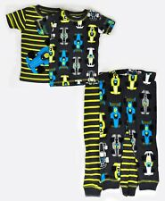Just One You Made By Carter's Baby Boys' Size 12M Striped Racecar Pajamas 4pc
