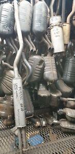 BMW 2500 2800 1968-1977 Lukey Aluminised Steel Center Muffler Assembly M9336