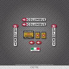 0218 Columbus nivacrom Custom Bicicletta Telaio E Forcella Adesivi-Decalcomanie