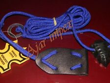 Tir à l'arc traditionnel en cuir bow stringer-re-courbe/longbow top qualité