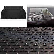 Trunk Cargo Mat For Car Sedan Suv Van Trunk Mat Blackl w/ Gray Dash Mat (Fits: Lexus)