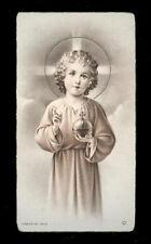 "santino-holy card""""ediz. NB serie ALFA  n.104 GESU' BAMBINO REDENTORE"