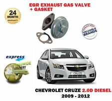 FOR CHEVROLET CRUZE 2.0DT DIESEL 2009-2012 NEW EGR EXHAUST GAS VALVE + GASKET
