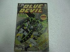 SEE IT HERE FIRST THE GREEN GARGOYLE  BLUE DEVIL  DC COMICS Rare ENGLISH