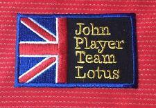 JOHN PLAYER TEAM JPS F1 CAR RACING TEAM MOTOR SPORTS IRON SEW ON PATCH