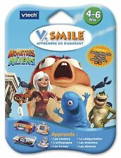 Jeu V.Smile Motion Monstres contre Aliens - 4 -6 ans - Vtech-Vsmile