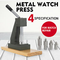 Large Metal Watchmaker Watch Press Back Case Closer Crystal Glass Repair Machine