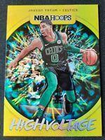 2019-20 Panini NBA Hoops High Voltage Jayson Tatum #25 Boston Celtics All-Star