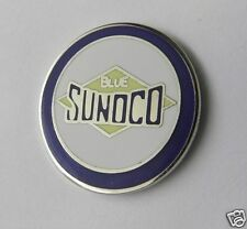 Sunoco Blue Oil Gas Fuel Lapel Pin Hat pin badge 1 inch in size