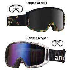 NEW Anon Burton Relapse Mens Ski Snowboard Goggles + lens Msrp$110