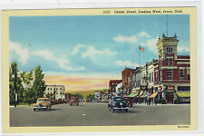 Provo Utah Center Street looking west