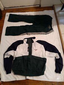 Vtg Ralph Lauren Polo Sport Mens XL-L Windbreaker xl jacket L pants Track Suit